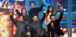 Shahrukh leads Happy New Year Music Launch
