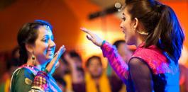 Mehndi Dancing