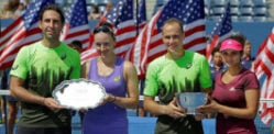 Sania Mirza wins 2014 US Open Doubles Title
