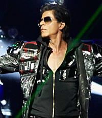 Shahrukh's SLAM concert tours America