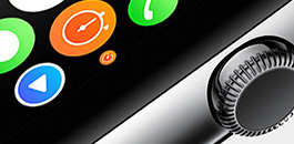 Apple smartwatch close-up