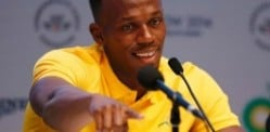 Usain Bolt visits India for Cricket Friendly