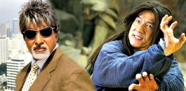 Amitabh and Jackie Chan