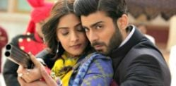 Sonam welcomes Fawad Khan in Khoobsurat