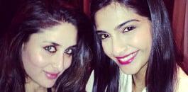 Sonam and Kareena Kapoor