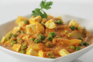 Aloo Matar Paneer - vegetarian recipes