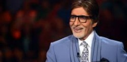Big B reveals SRK's naked pics on KBC!