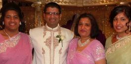 Jitendra Lad's family