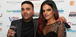 Naughty-Boy and DJ Neev at Asian Media Awards