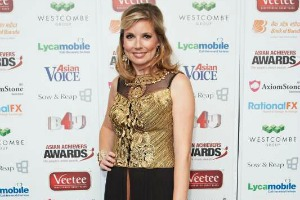 Philippa-Tomson presenter at Asian Achievers Awards