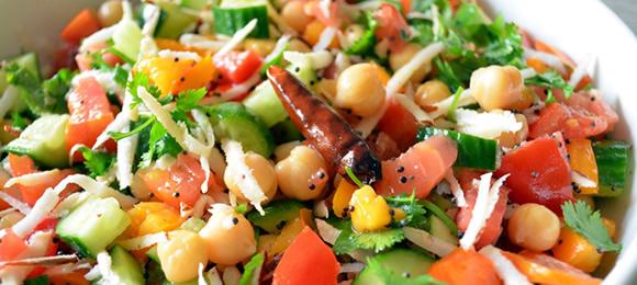 Low Carb Vegetable Salad