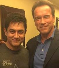 Aamir starstruck after meeting Arnold Schwarzenegger