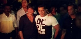 SRK and Salman hug