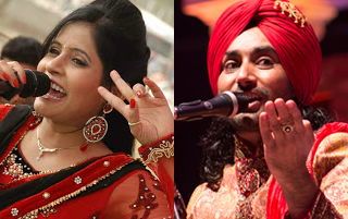 Miss Pooja and Satinder Sartaaj