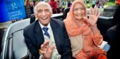 World's Oldest Married Couple Share Birthday