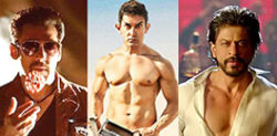 Shahrukh, Salman and Aamir Reunited?