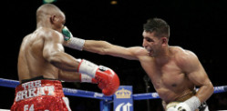 Amir Khan defeats Devon Alexander in Las Vegas