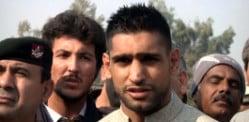 Boxer Amir Khan to support Pakistan Development