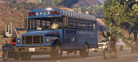 Bus heist
