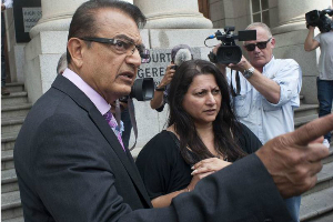 Vinod and Nilam Hindocha have hired a top London lawyer to take civil action against Shrien in the UK.