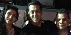 Salman Khan enjoys 49th Birthday celebrations