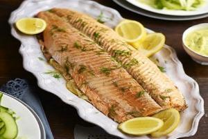 Parcel Poached Salmon