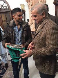 Shahbaz Sharif Amir Khan