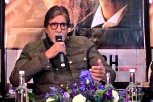 Amitabh Shamitabh Press Conference