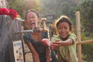 Gaining access to safe water and improved sanitation can completely transform lives.