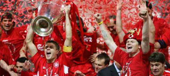 Liverpool CL Final 2005