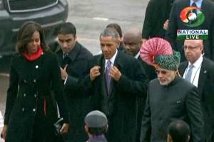Michelle Barack Obama Modi