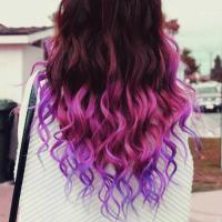 pastel streaks