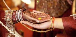 A young Indian bride married her wedding guest in anger, as her groom-to-be suddenly fell ill