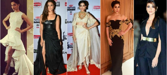 Best Dressed Women at the 60th Filmfare Awards