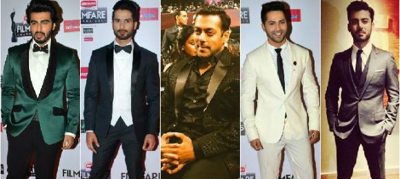Best Dressed Men at the 60th Filmfare Awards