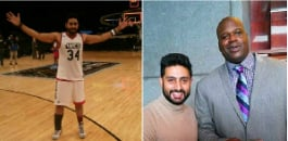 Abhishek was recently named the Goodwill Ambassador for NBA All-Star Weekend 2015.