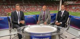 Sky Soccer Sunday panel