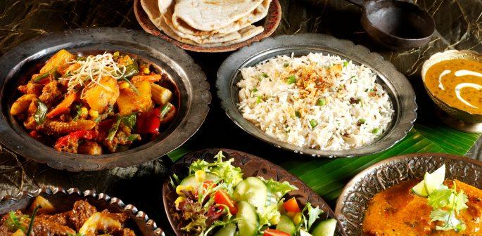 Romantic Indian Food