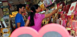 Is Valentine's Day a taboo in India?