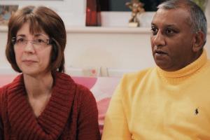 Manoj and Celia Shah