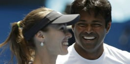 Leander Paes Martina Hingis Australia Open