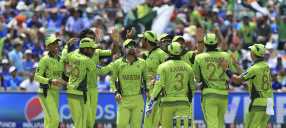 Pakistan team Vs India at 2015 ICC Cricket World Cup