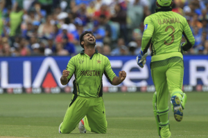 Sohail Khan Pakistan at 2015 ICC Cricket World Cup