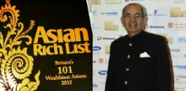 With an astounding wealth of £15.5 billion, the Hinduja brothers have scored a hat-trick in the third annual Asian Rich List.