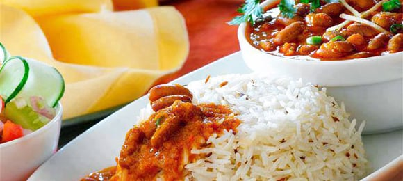 Desi Recipes Rajma Chawal