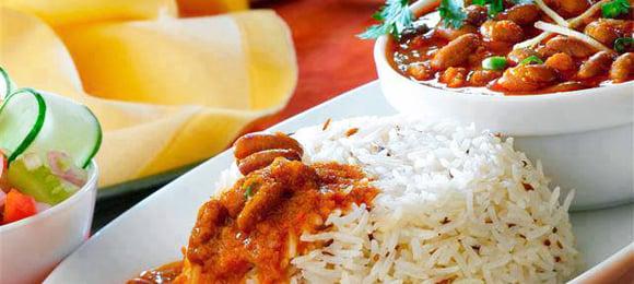 Desi Recipes Rajma Chawal