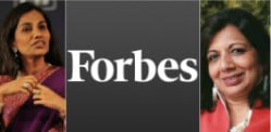 Indians among Forbes' Power Businesswomen 2015