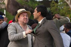 Armitage (Richard McCabe) and Ramu Sood (Alyy Khan)