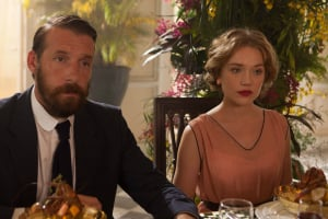 l-r: Dougie (Craig Parkinson) and Alice (Jemima West)