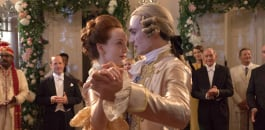 l-r: Madeleine (Olivia Grant) and Ralph (Henry LLoyd Hughes)